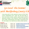 4-H Going Local Flyer Image
