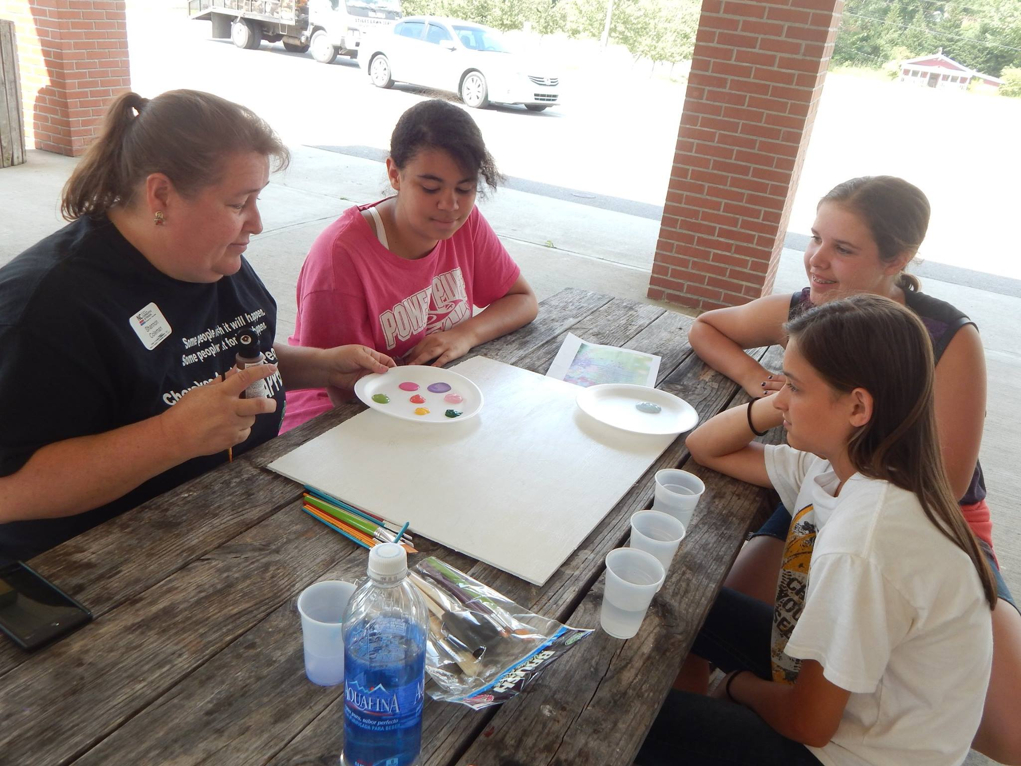 Shannon Painting with HD 4H