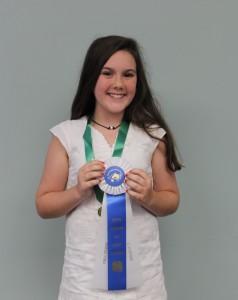 Avery Johnson 11-13 Public Speaking Champion