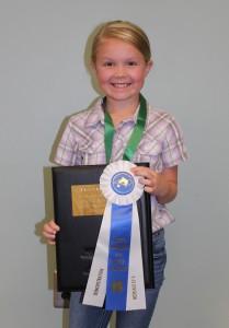 Bailey Lillie 9-10 Presentation Champion