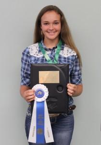 Savannah Lindsey 11-13 Presentation Champion