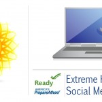 Twitter Graphic: Extreme Heat Social Media Toolkit. Learn more at ready.gov/calendar