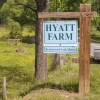 Hyatt Farm Sign