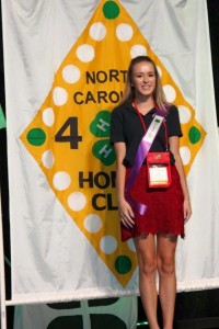 Alana Jones, winner of AIRE and Honor Club Recipient