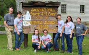 Cover photo for North Carolina Team Competes at National 4-H Forestry Invitational