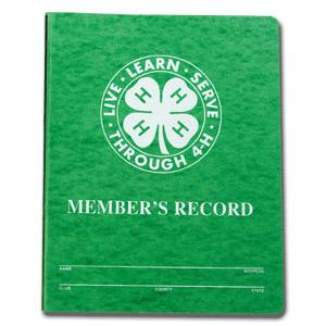 4-H Project Record Book Forms | | North Carolina Cooperative Extension