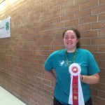 Rebekah Taylor won the honor to attend 4-H Southern Regional Horse Championship in Georgia