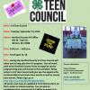 Teen Council flyer