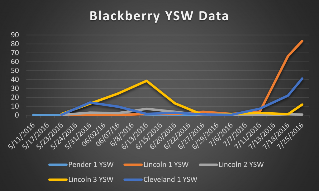 blackberry ysw data 11