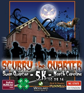 2nd Annual Scurry the Quarter T-shirt Design