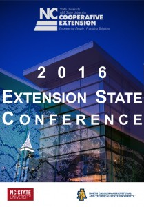 Extension State Conference app cover design for 2016.