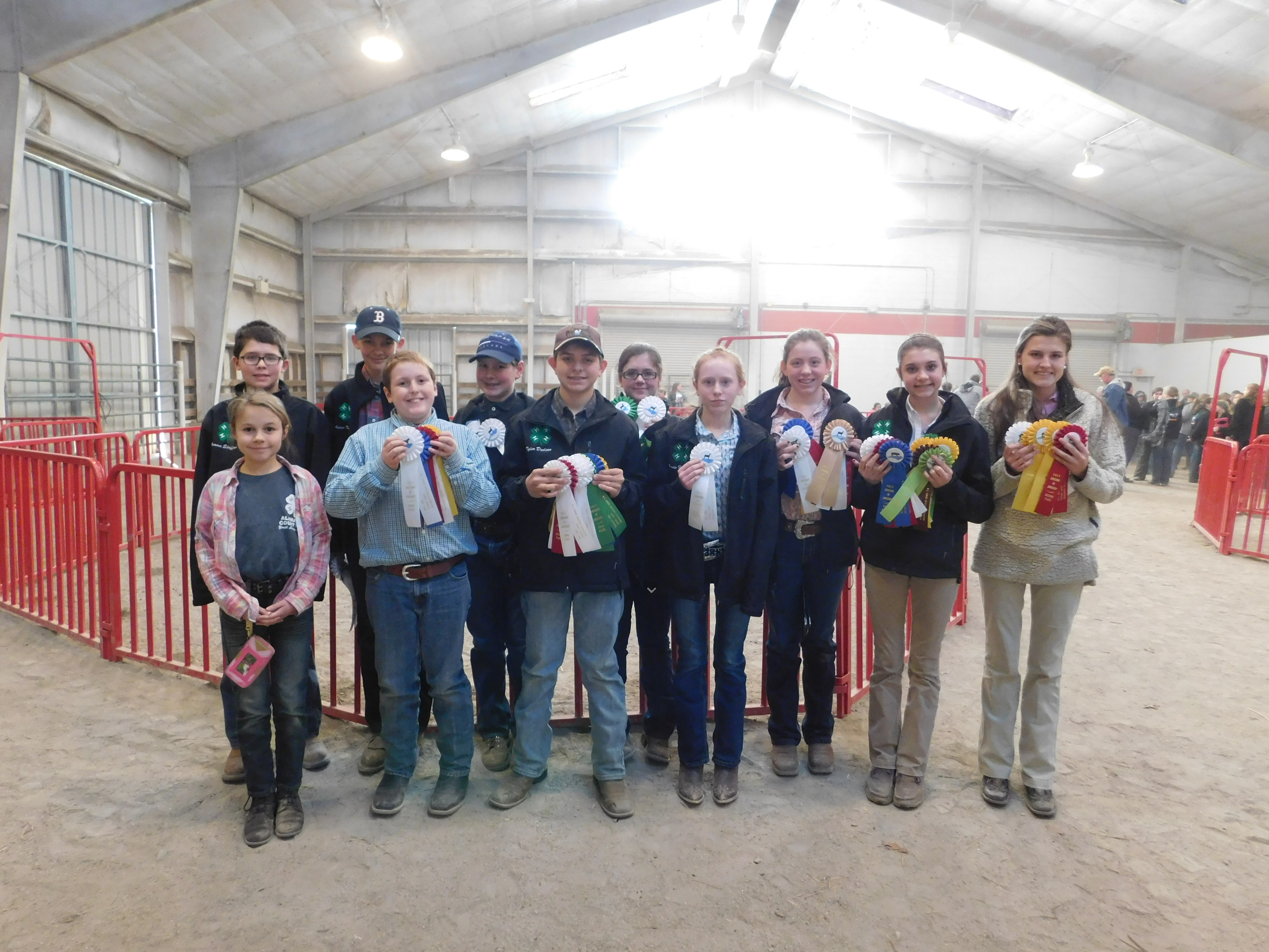 Alamance County 4 H Excels At Recent Livestock Judging Contest