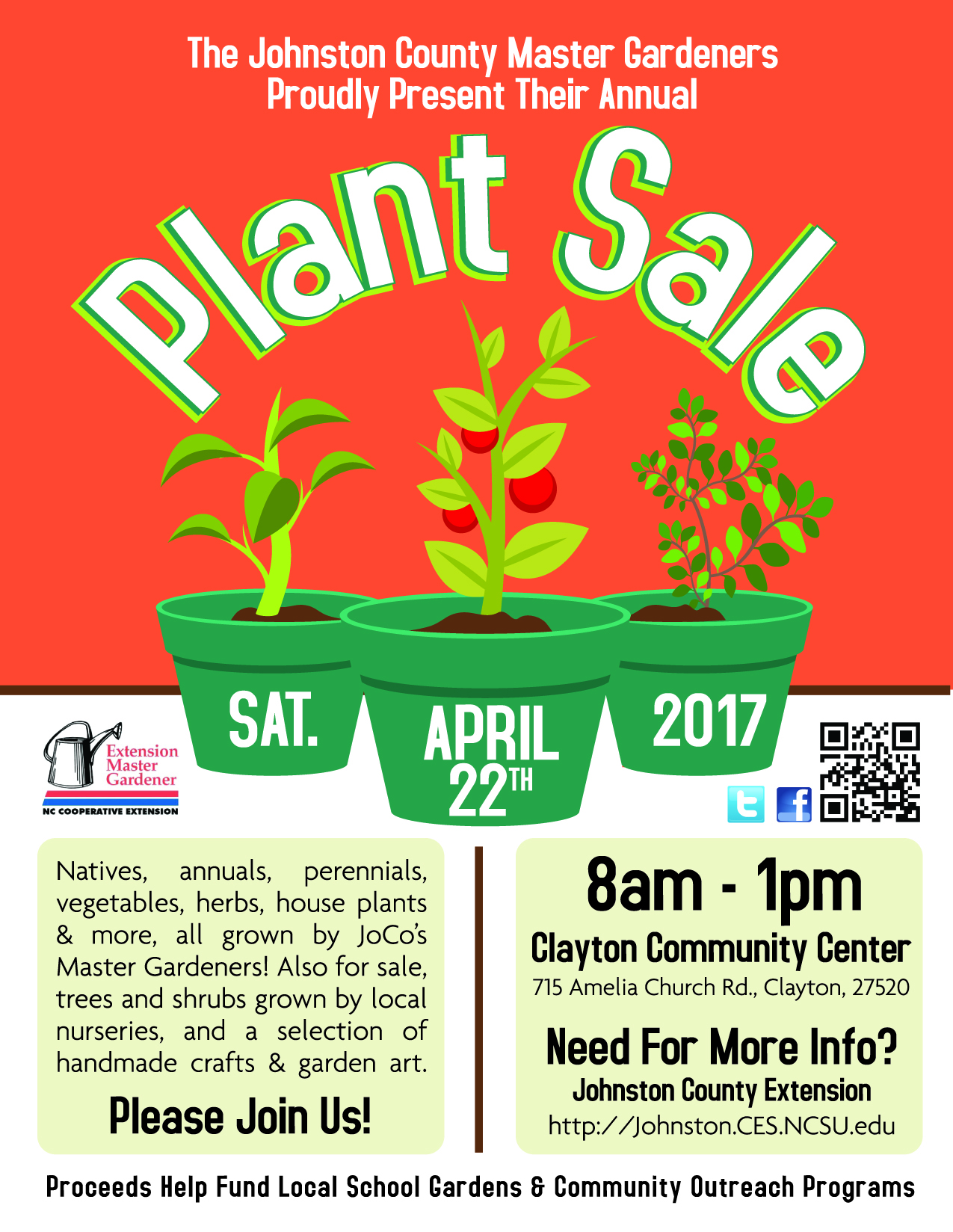 Johnston County Extension Master Gardeners Plant Sale North Carolina Cooperative Extension
