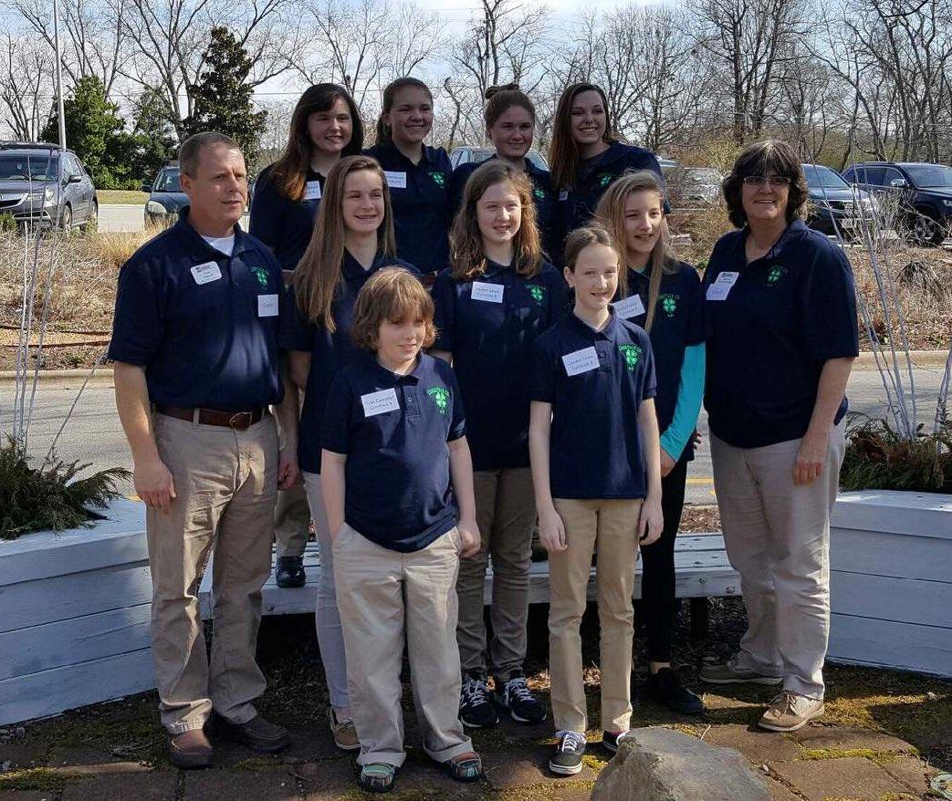 Horse Bowl participants