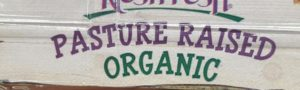 Pasture Raised Organic