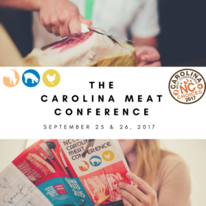 Cover photo for Registration Is Open for the Carolina Meat Conference