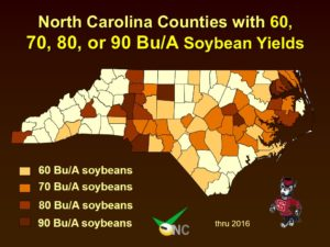 Cover photo for 2017 Soybean Yield and MEY Contests