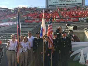 Cover photo for 4-H Represented at NC State Football Game