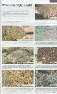 Different Odors of Silage