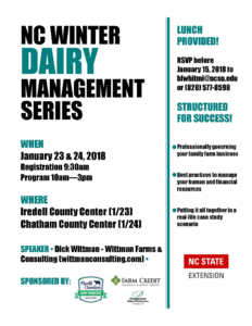 Cover photo for Dairy Winter Management Series