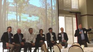 Photo of panel at 2018 Turfgrass Symposium