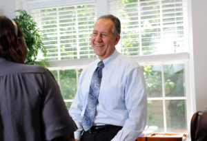 Joseph Zublena, former director of NC State Extension