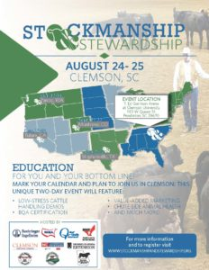 Cover photo for Stockmanship and Stewardship Southeastern Event