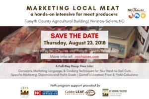 Cover photo for Meat Marketing Workshop - Registration Opens July 10