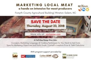 Cover photo for Marketing Local Meat