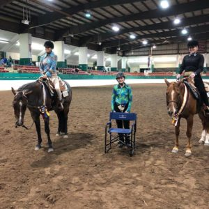 Cover photo for July 2018 NC 4-H Horse Program Newsletter