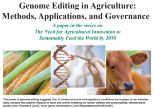 Cover photo for CAST Issue Paper: Genome Editing in Agriculture: Methods, Applications, and Governance