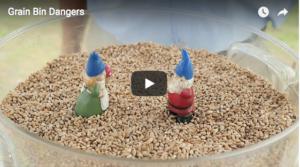 Video intro for Grain bin dangers