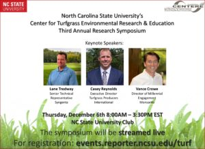Cover photo for Third Annual Turf Research Symposium - Registration Is Open!
