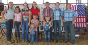 Cover photo for Extension@YourService: Richmond 4-H Goat Show Great Success