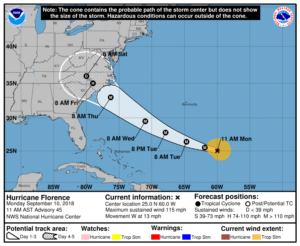 Cover photo for Hurricane Preparations