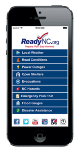 Cover photo for Prepare for Hurricane Florence With ReadyNC: Your All-in-One Tool for Emergency Readiness