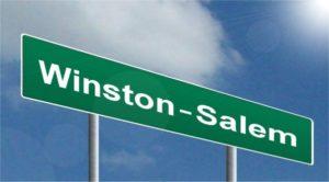 Winston Salem sign