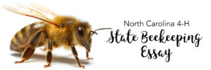 Cover photo for North Carolina 4-H Beekeeping Essay