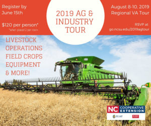 Cover photo for 2019 Regional Ag and Industry Tour