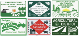 Cover photo for Voluntary Agricultural Districts:  Discussing Proximity Notice at NC GIS Conference
