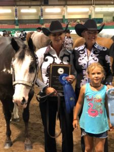 Cover photo for 2019 NC State 4-H Horse Show Inaugural Alumni Showmanship Class