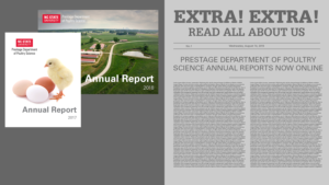header image announcing annual reports online