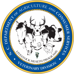 N.C. Department of Agriculture and Consumer Services Veterinary Division Logo