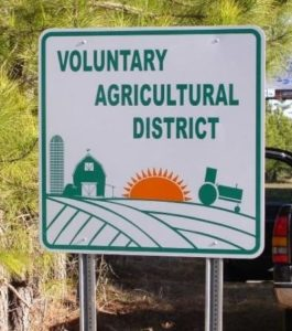 Agriculture District Sign