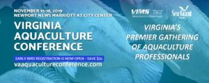 Flyer for Virginia Aquaculture Conference