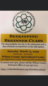 Cover photo for 2020 Wilson County Bee School