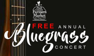 Cover photo for Bluegrass Concert - Saturday March 28th