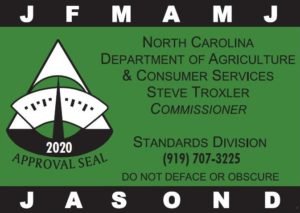 Cover photo for 2020 Annual NCDA&CS Scale Certification