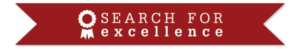 Banner - Search for Excellence - red