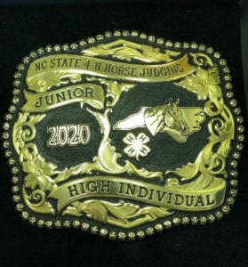 Cover photo for 2020 Horse Judging Contest Update